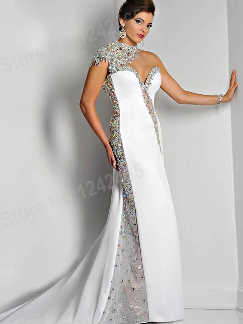 Abend Luxus Abendkleider Lang Weiß Bester Preis13 Schön Abendkleider Lang Weiß Vertrieb