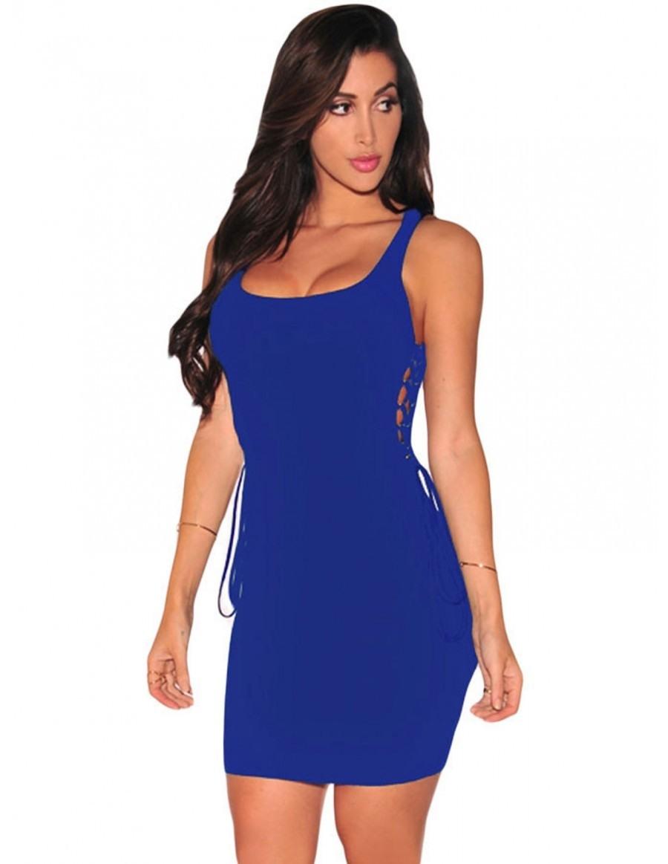 Abend Großartig Blaues Kurzes Kleid Stylish13 Leicht Blaues Kurzes Kleid Ärmel