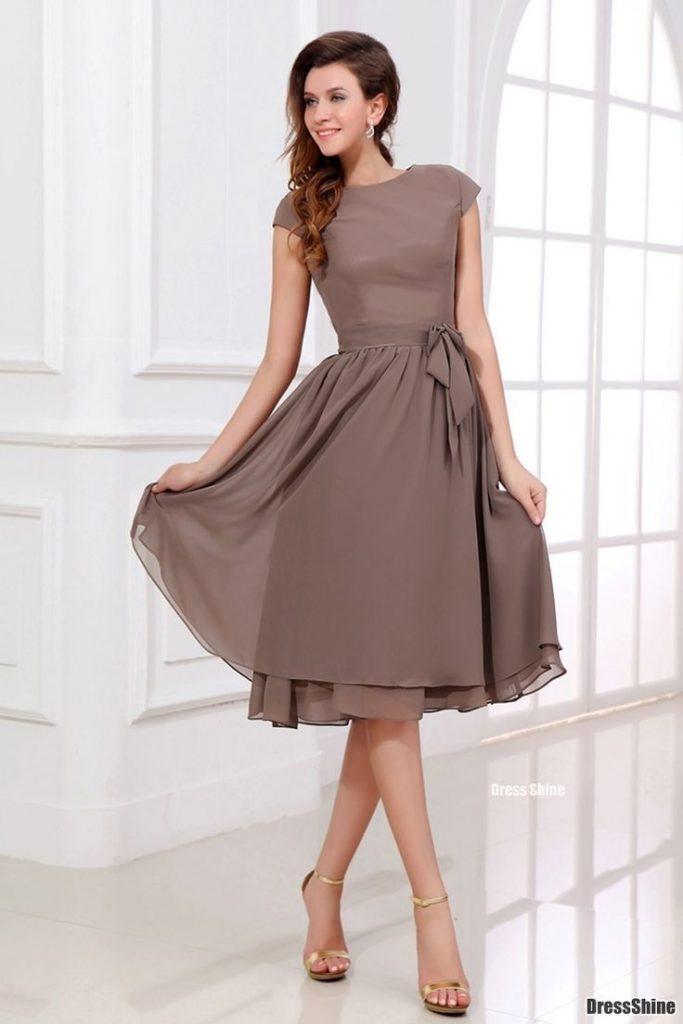 klassischer Stil Qualität zuerst outlet 13 Schön Festliche Kleider Damen Knielang Ärmel - Abendkleid