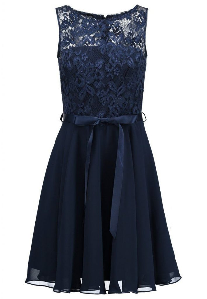 13 Schön Kleid Hellblau Kurz Ärmel - Abendkleid