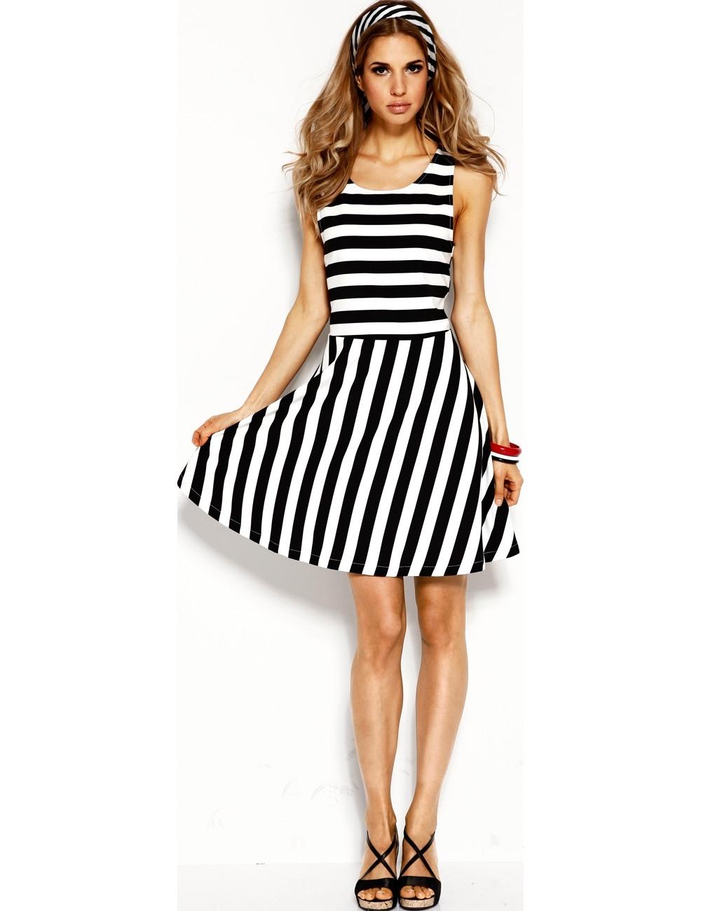 Designer Fantastisch Kleider In Schwarz Weiß Stylish10 Einfach Kleider In Schwarz Weiß Stylish