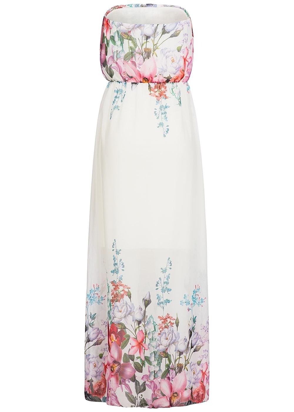 Abend Luxurius Kleid Weiß Mit Blumen SpezialgebietFormal Perfekt Kleid Weiß Mit Blumen Galerie