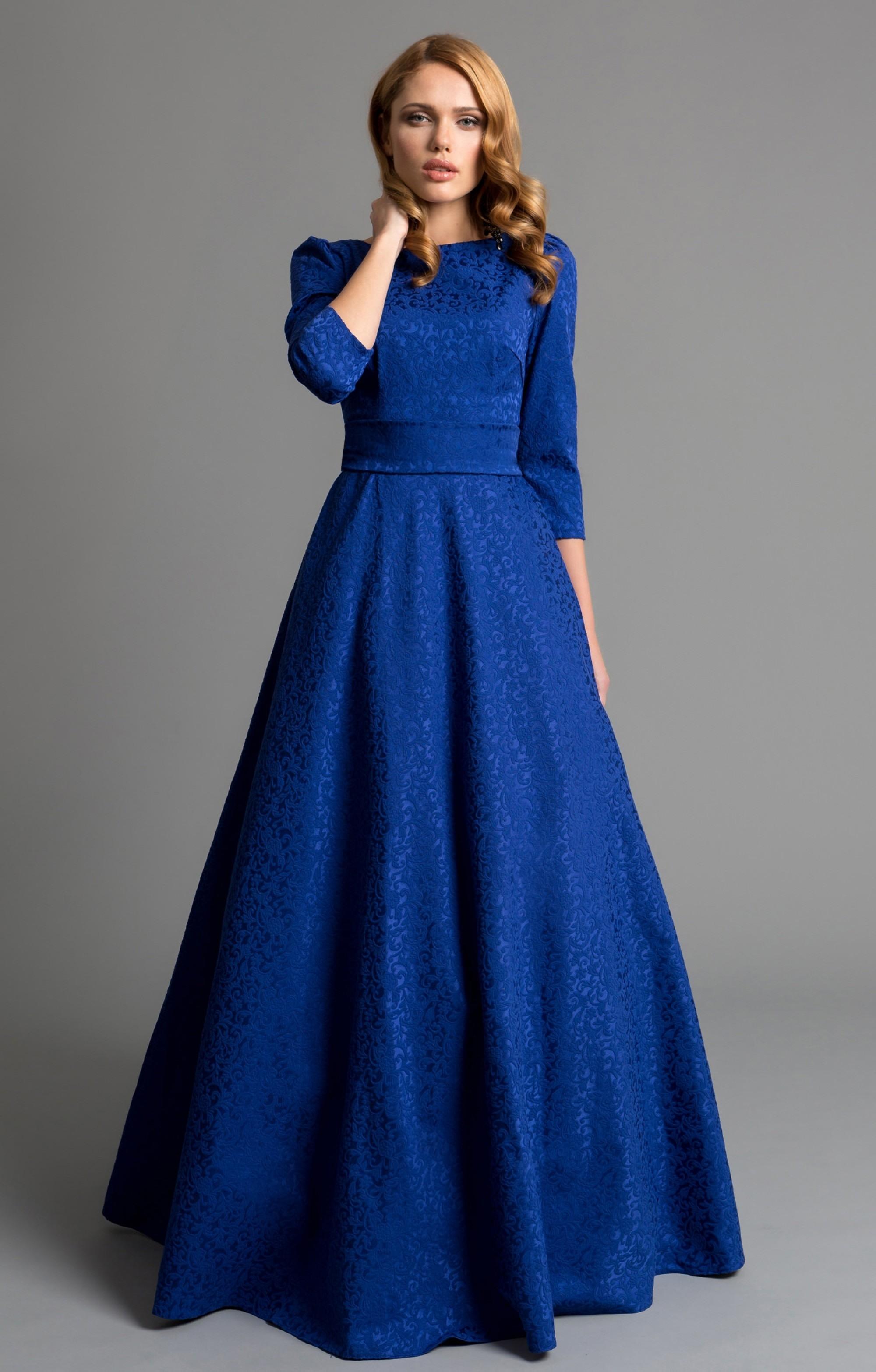 Formal Luxurius Abendkleid Blau DesignFormal Einfach Abendkleid Blau Spezialgebiet