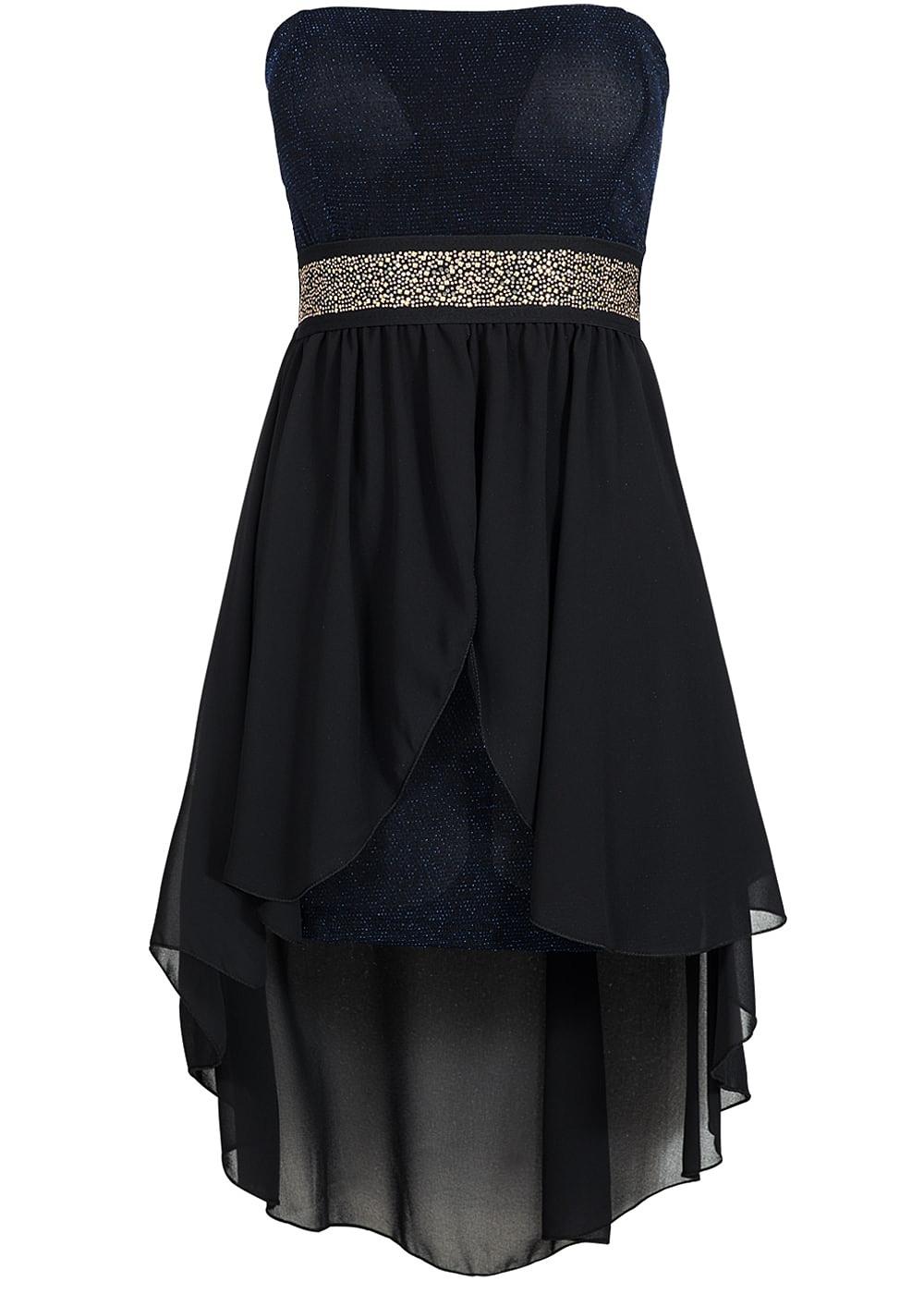 Abend Wunderbar Kleid Blau Glitzer Vertrieb Top Kleid Blau Glitzer Galerie