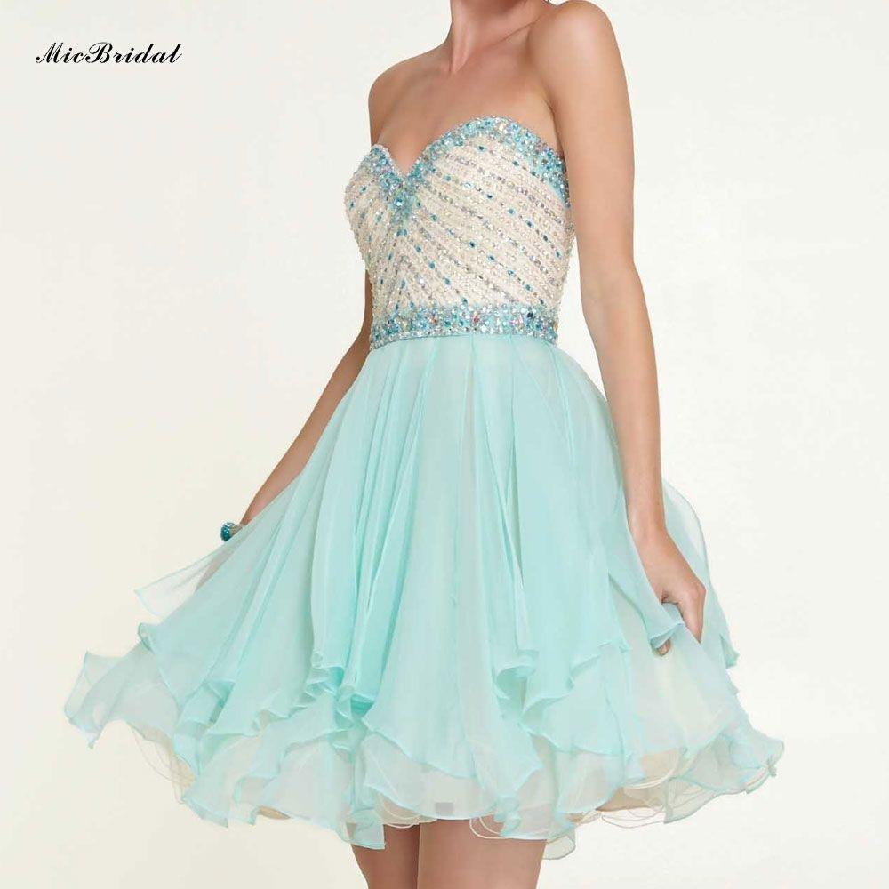 Formal Luxus Kleid Mintgrün Kurz für 201917 Großartig Kleid Mintgrün Kurz Stylish