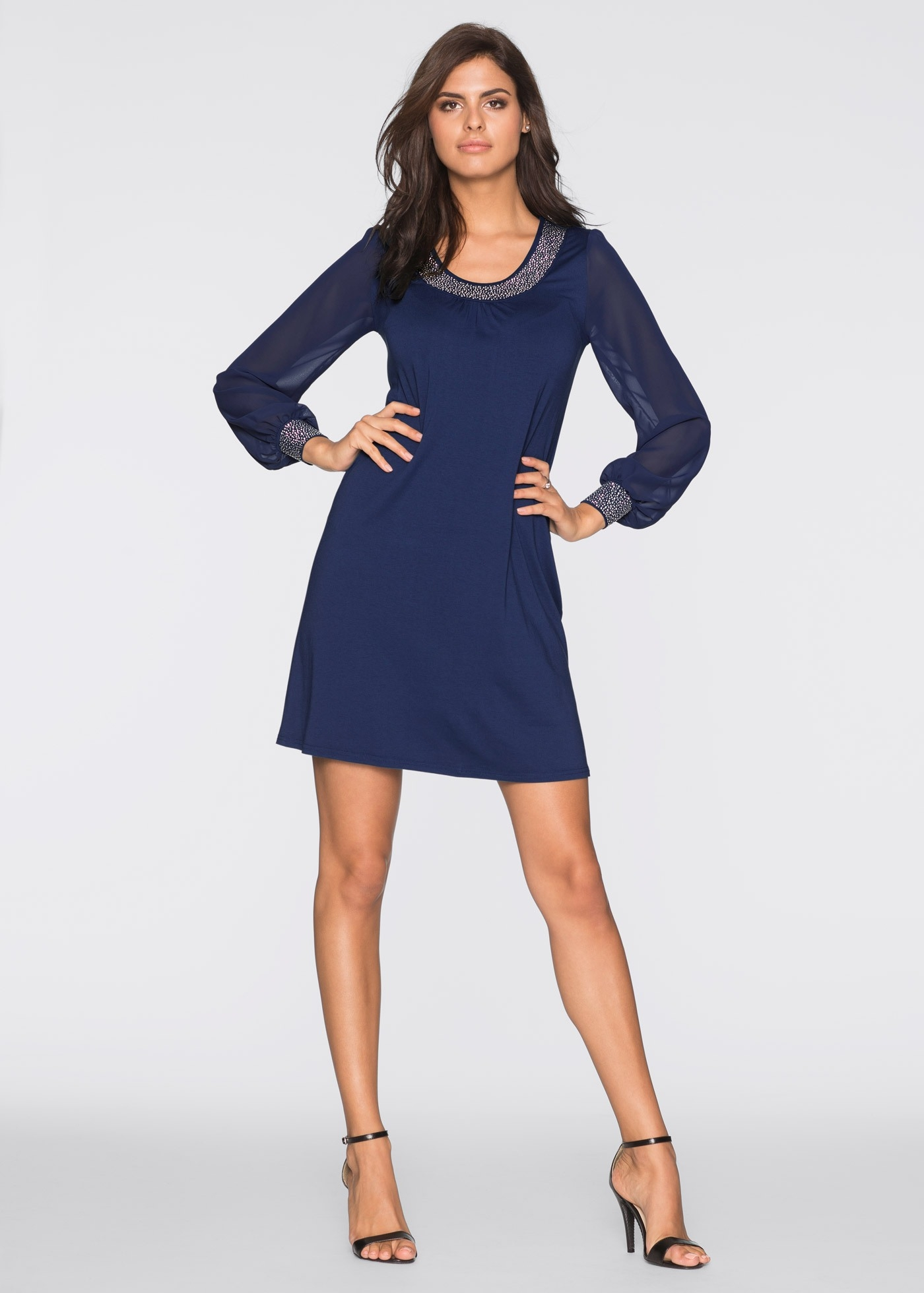 15 Coolste Kleid Dunkelblau Langarm Vertrieb Großartig Kleid Dunkelblau Langarm Ärmel