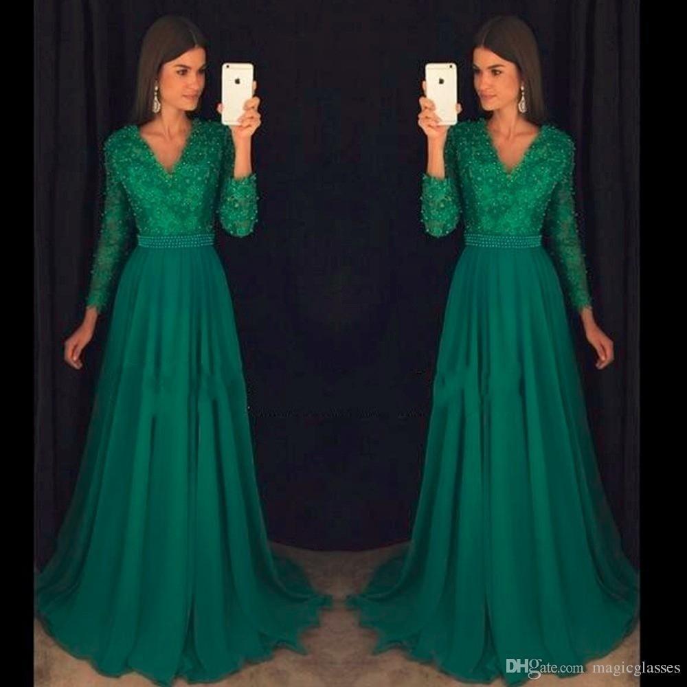 10 Coolste Abendkleider Langarm Ärmel - Abendkleid