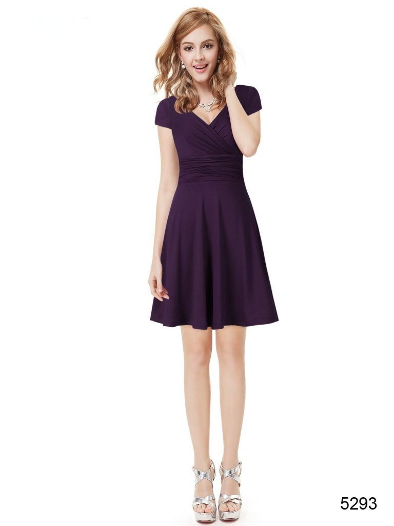 15 Coolste Kleid Lila Kurz für 2019 - Abendkleid