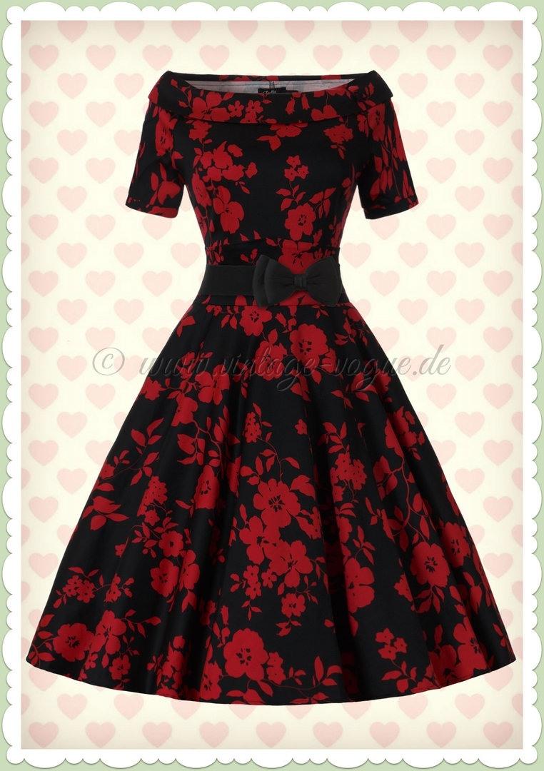 Designer Ausgezeichnet Schwarzes Kleid Mit Roten Blumen ÄrmelAbend Coolste Schwarzes Kleid Mit Roten Blumen Bester Preis