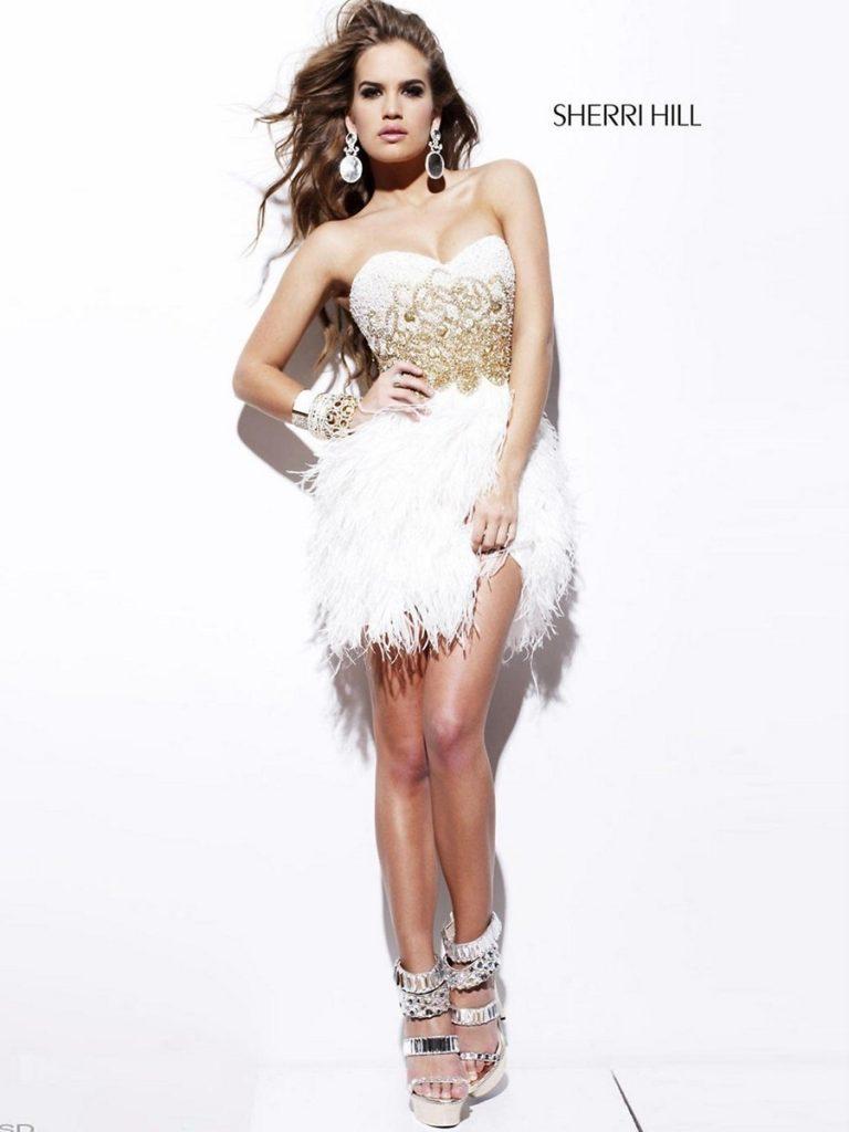 huge discount d0c2c 653d1 15 Einfach Elegante Weiße Kleider Bester Preis - Abendkleid