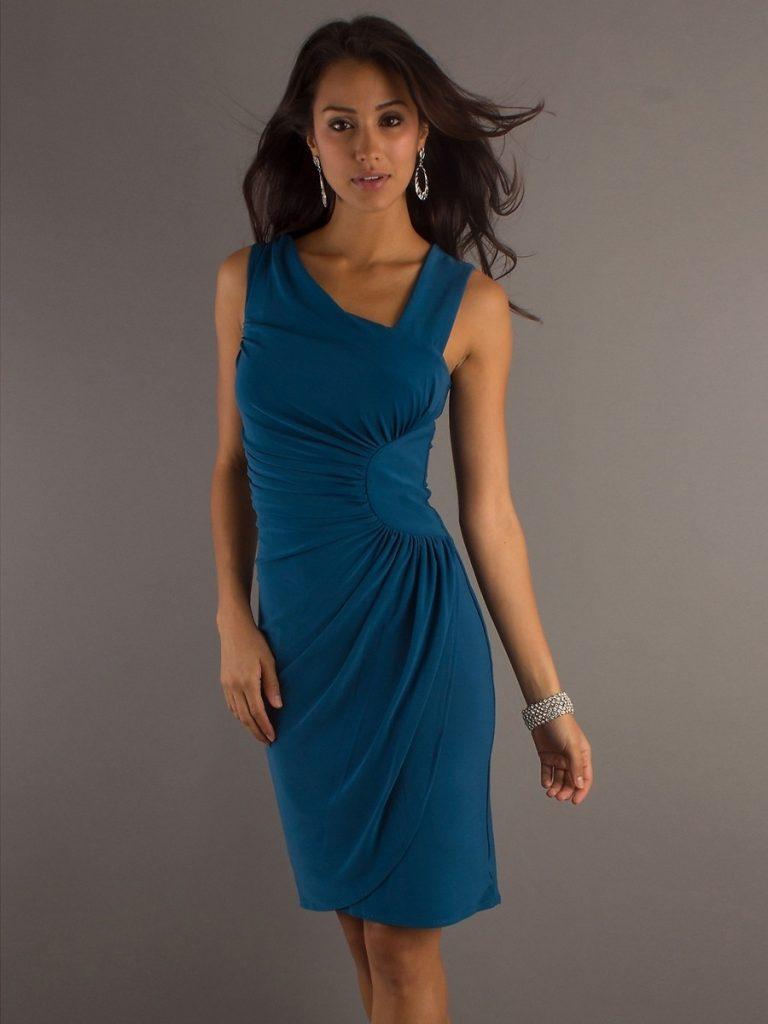 großer Lagerverkauf beliebt kaufen reich und großartig 15 Einzigartig Kleid Hochzeitsgast Blau Spezialgebiet - Abendkleid