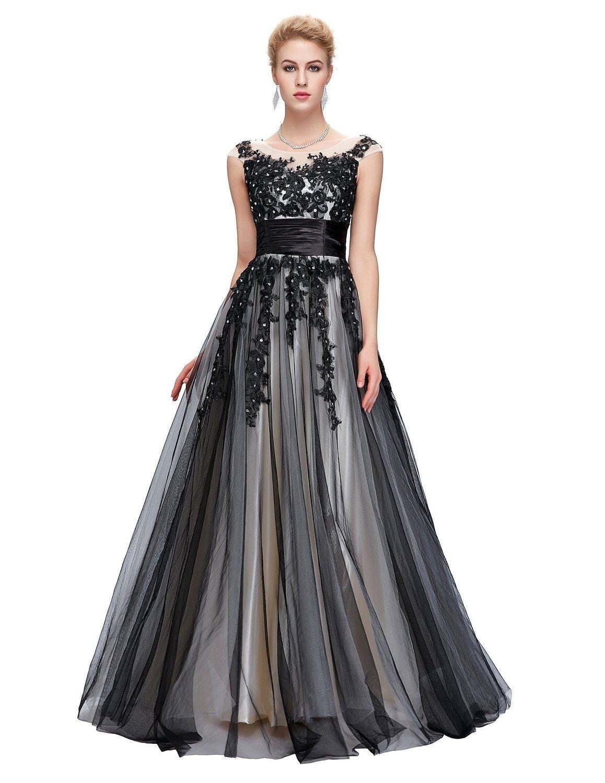 17 Großartig Abendkleider Lang Schwarz Elegant ÄrmelAbend Schön Abendkleider Lang Schwarz Elegant Ärmel