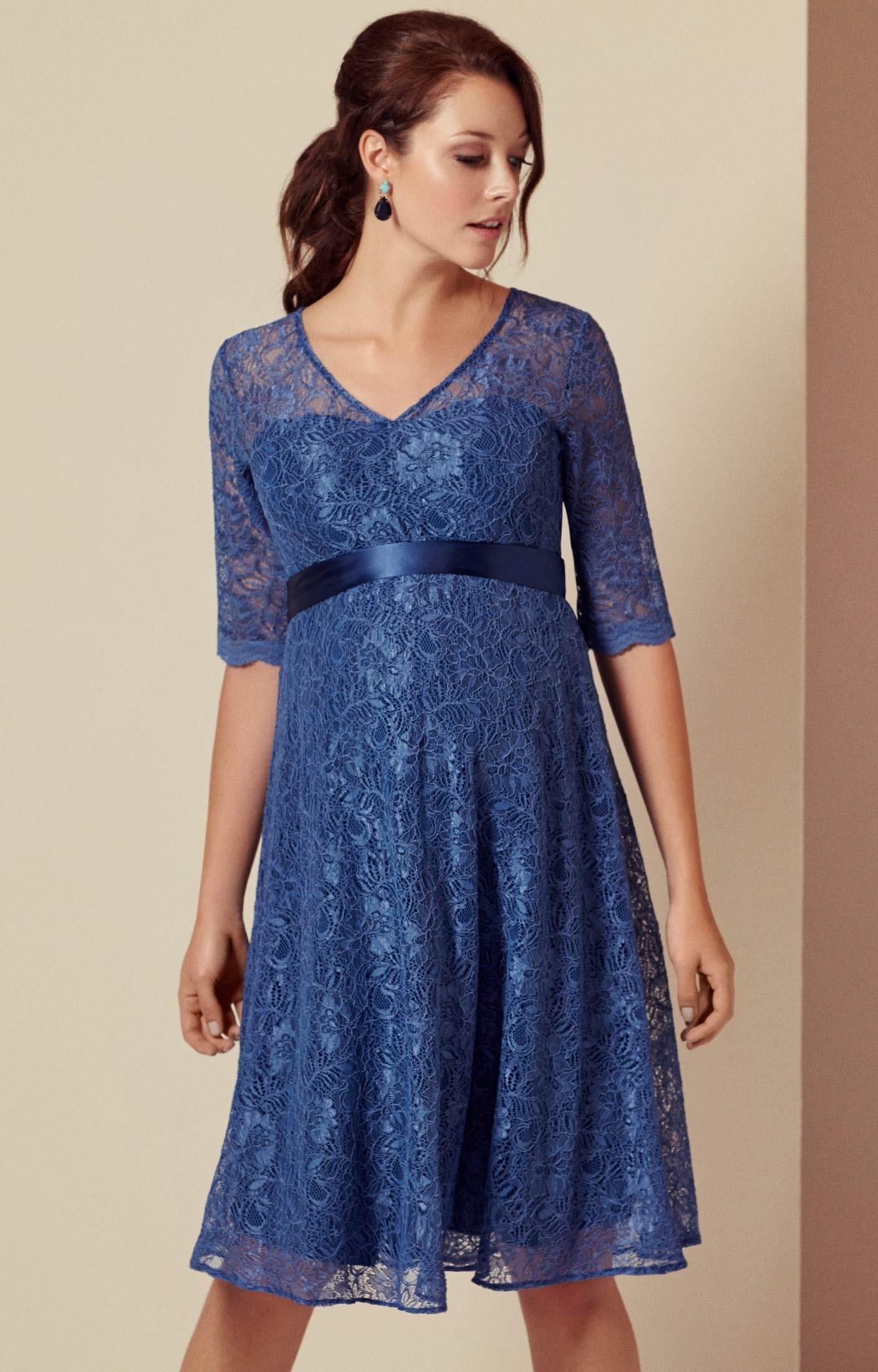 Coolste Kleid Blau Kurz DesignFormal Top Kleid Blau Kurz Stylish