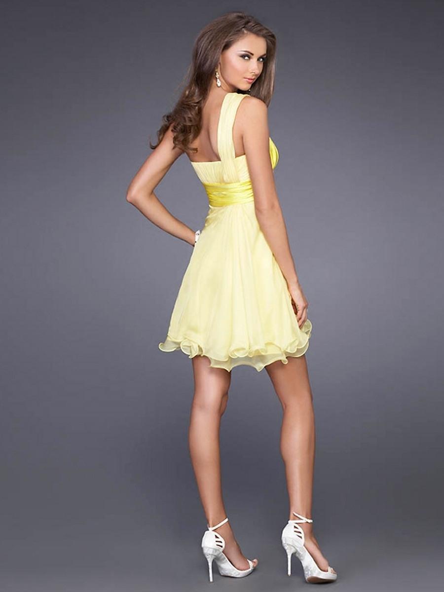 17 Leicht Kleid Gelb Kurz GalerieFormal Genial Kleid Gelb Kurz Spezialgebiet