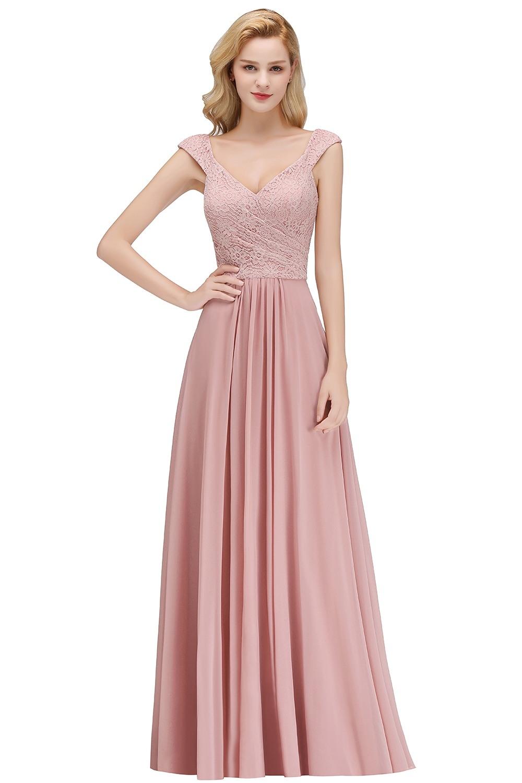 Formal Spektakulär Kleid Altrosa Spitze Boutique10 Schön Kleid Altrosa Spitze Ärmel