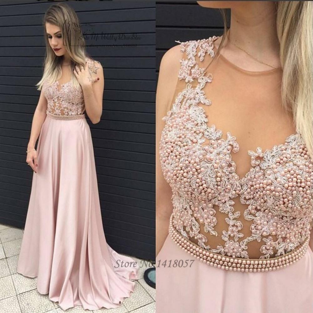 Abend Genial Rosa Kleid Lang Spitze Vertrieb15 Wunderbar Rosa Kleid Lang Spitze für 2019
