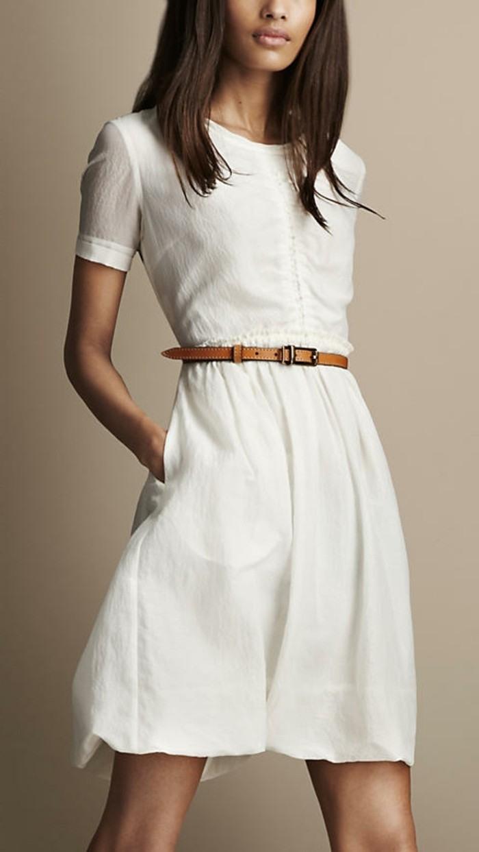 Schön Weißes Kleid Mit Ärmeln Ärmel20 Genial Weißes Kleid Mit Ärmeln Galerie
