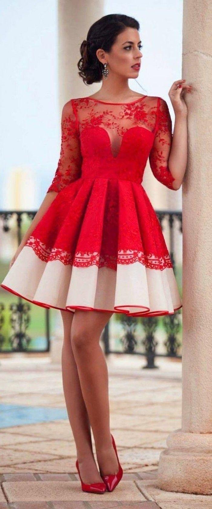 10 Luxurius Kleid Rot Festlich StylishDesigner Top Kleid Rot Festlich Design