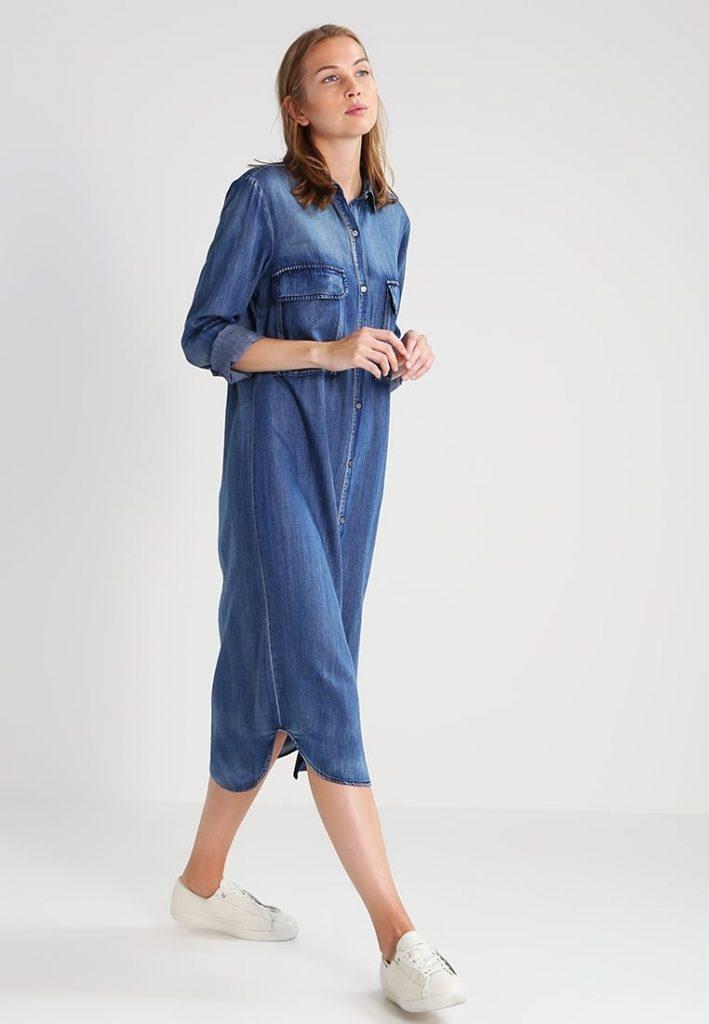 sehr bekannt Verkauf Einzelhändler Modestil von 2019 15 Perfekt Jeans Kleid Maxi Boutique - Abendkleid