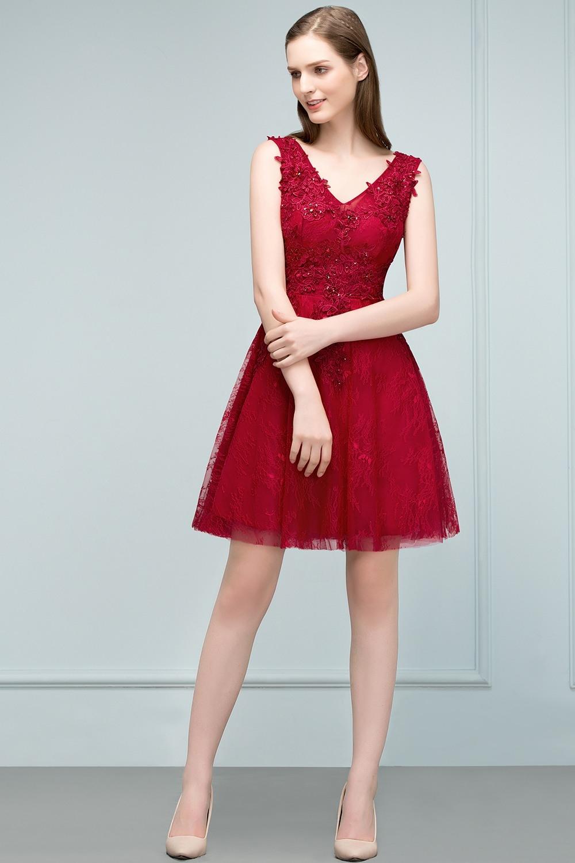Abend Einfach Abendkleider Kurz Elegant DesignFormal Ausgezeichnet Abendkleider Kurz Elegant Ärmel