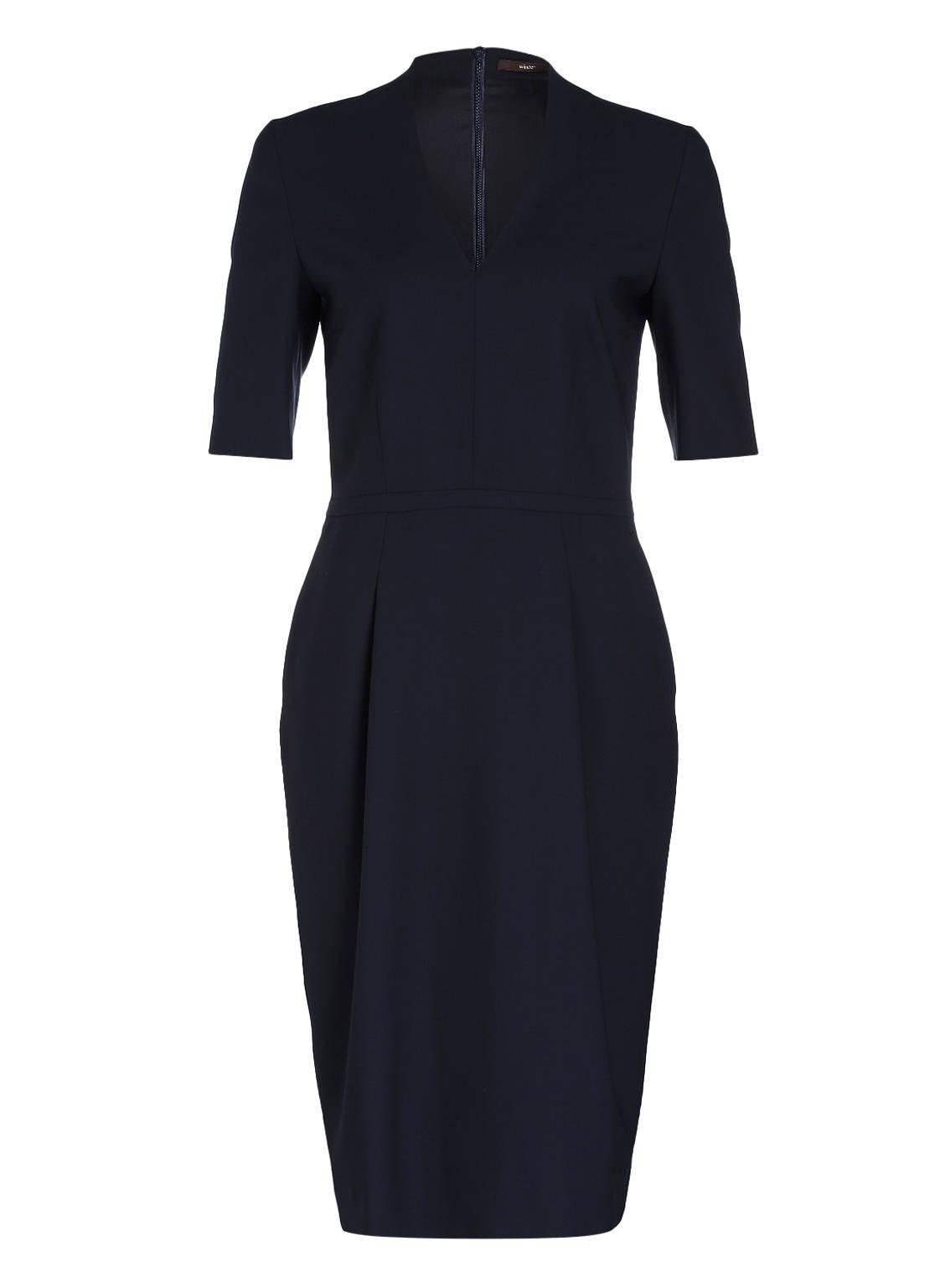17 Luxurius Kleid Dunkelblau Knielang BoutiqueDesigner Schön Kleid Dunkelblau Knielang Design