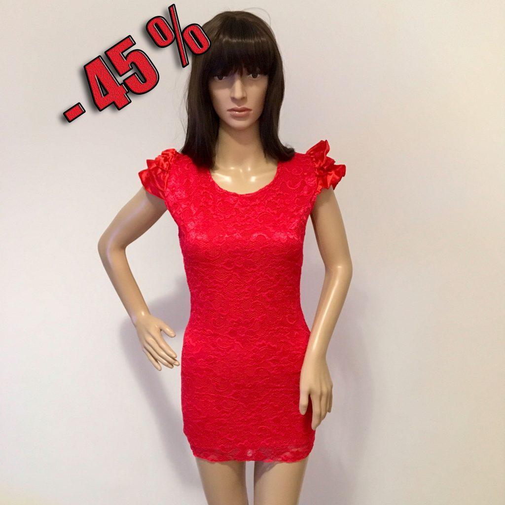 15 Schön Kleid Rot Spitze Stylish - Abendkleid