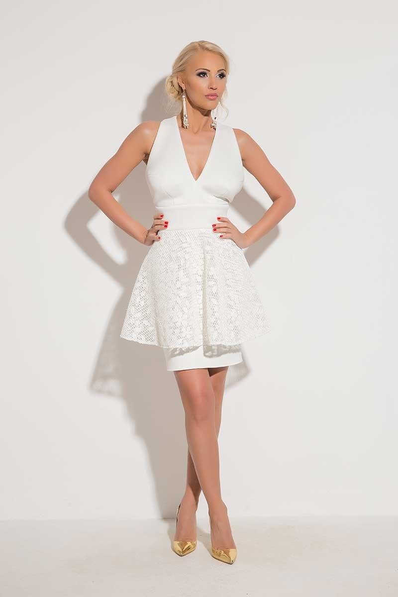 10 Wunderbar Weißes Abendkleid Spezialgebiet13 Leicht Weißes Abendkleid Ärmel