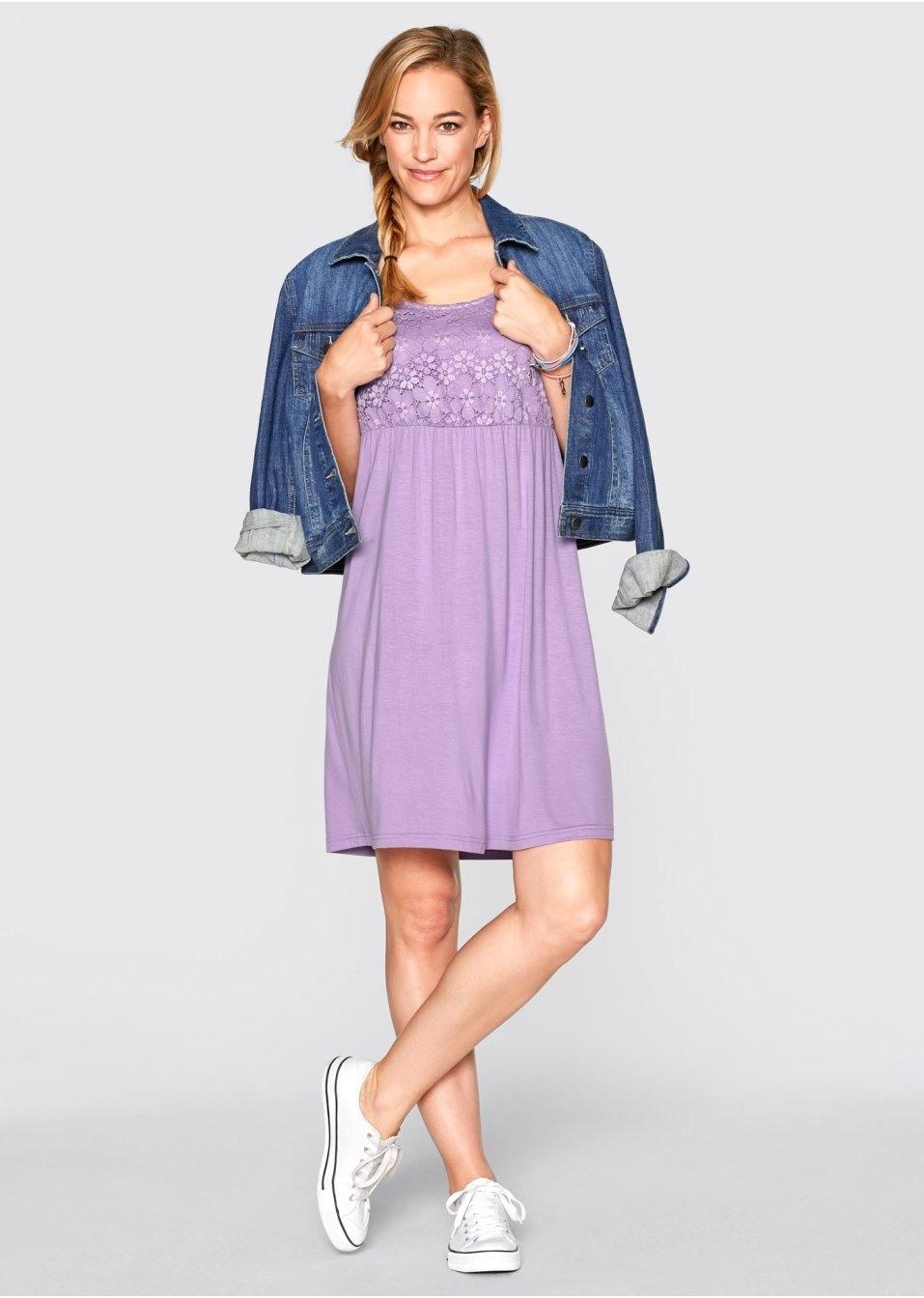 Abend Großartig Kleid Flieder Spitze Spezialgebiet15 Genial Kleid Flieder Spitze Stylish