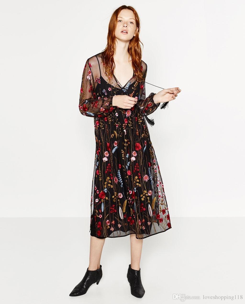 10 Fantastisch Schwarzes Kleid Mit Blumen Boutique Großartig Schwarzes Kleid Mit Blumen Design