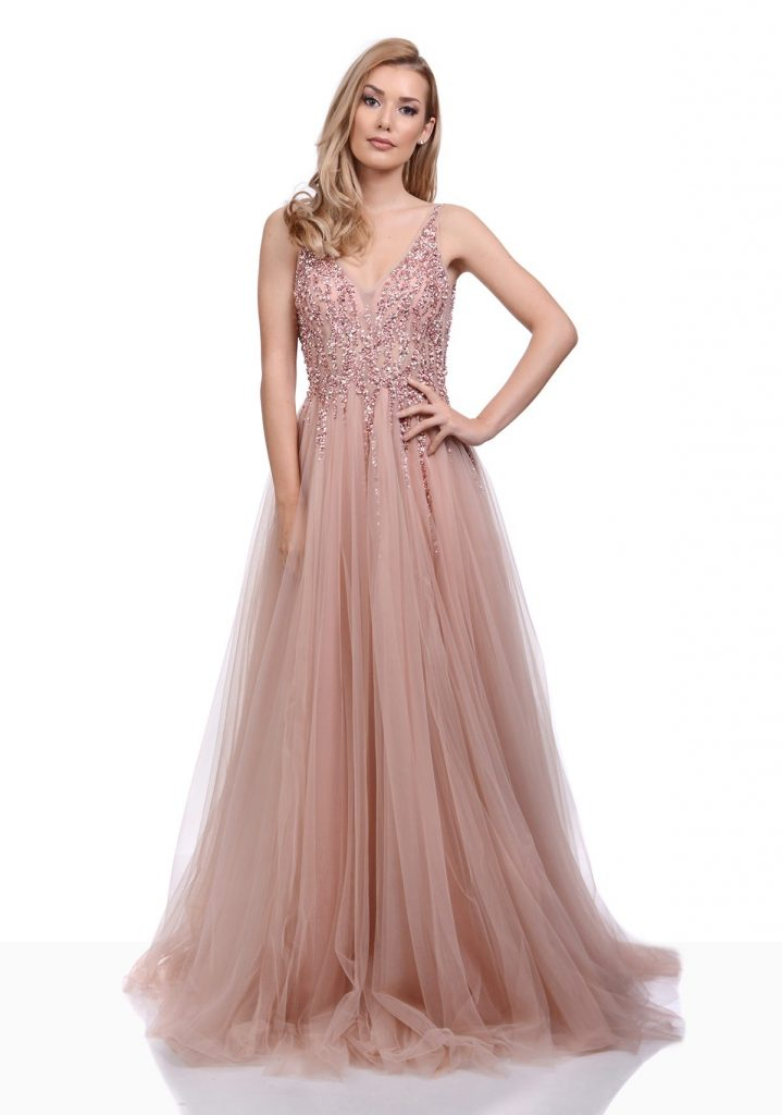 17 Coolste Abschlusskleider Lang Rosa Design - Abendkleid