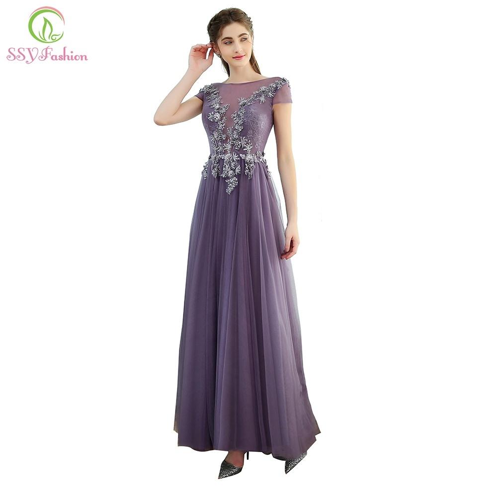 15 Einfach Kleid Lang Lila Stylish15 Schön Kleid Lang Lila für 2019
