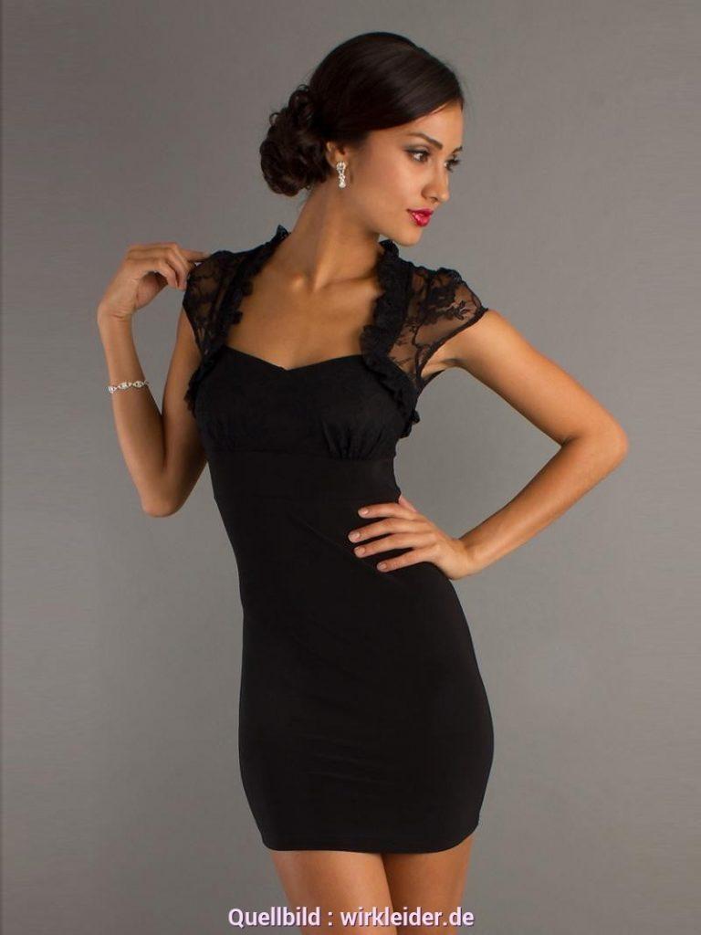 16 Einfach Schwarzes Kurzes Kleid Mit Spitze Bester Preis - Abendkleid
