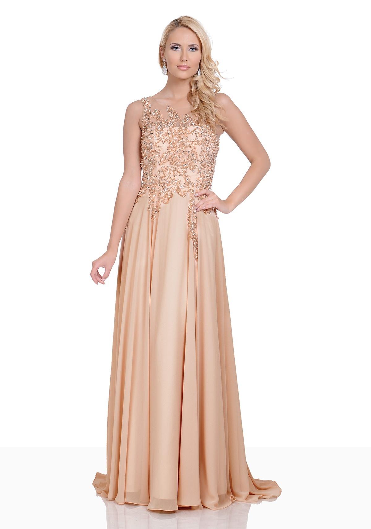 13 leicht abendkleid gold boutique  abendkleid