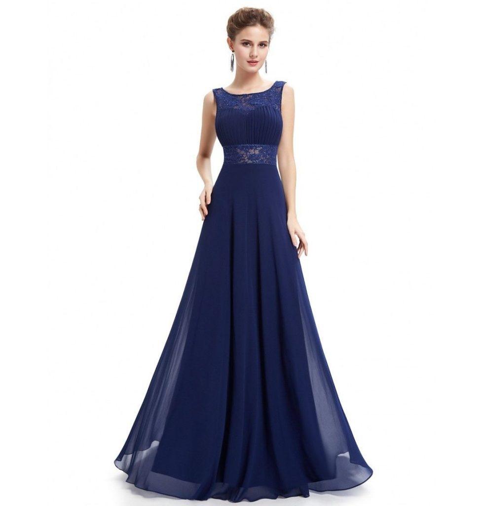 dunkelblaues kleid lang 18aa9185