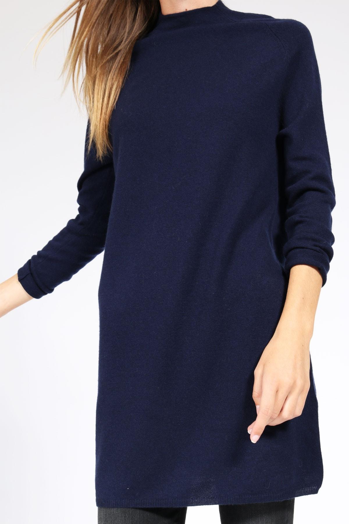 17 Einzigartig Strickkleid Blau Galerie - Abendkleid
