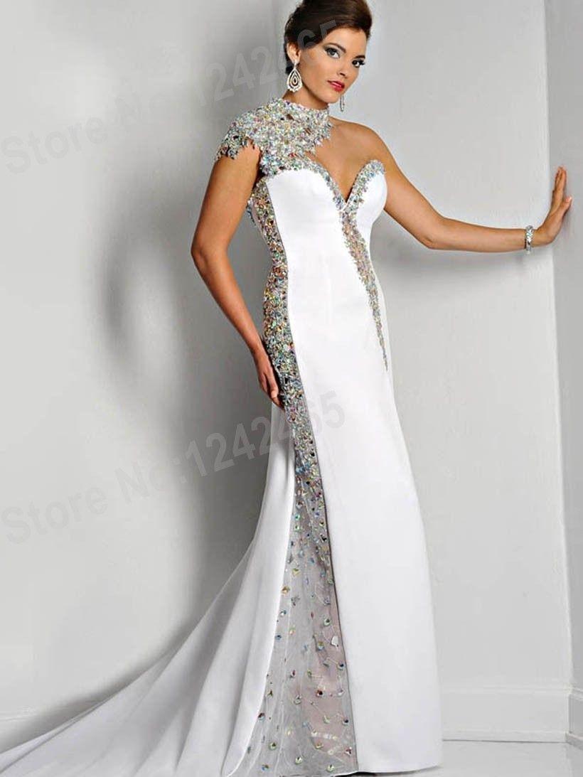 20 Erstaunlich Abendkleid Weiß Lang Günstig für 2019Abend Einzigartig Abendkleid Weiß Lang Günstig Design