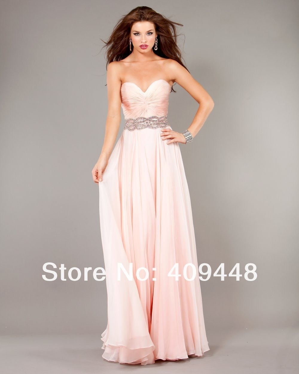 Abend Schön Kleid Rosa Lang Spezialgebiet17 Top Kleid Rosa Lang Galerie