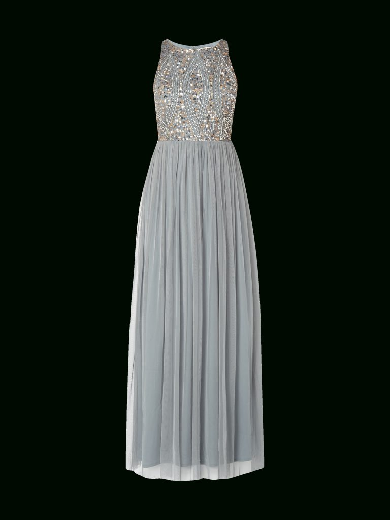 new style 1aa8b f84a2 17 Erstaunlich Kleid Grau Lang Design - Abendkleid
