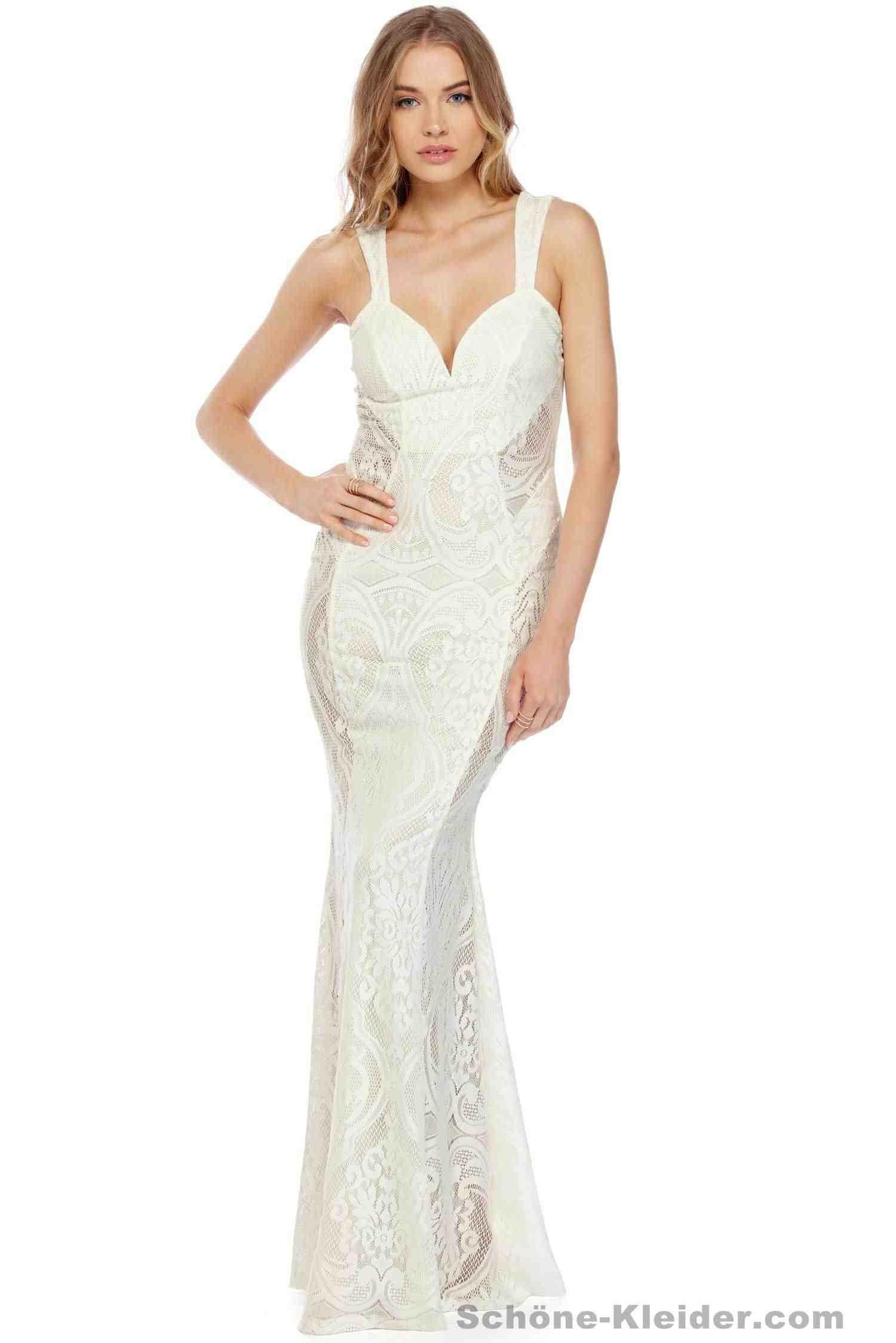 20 Top Kleid Lang Spitze für 2019Abend Großartig Kleid Lang Spitze Boutique