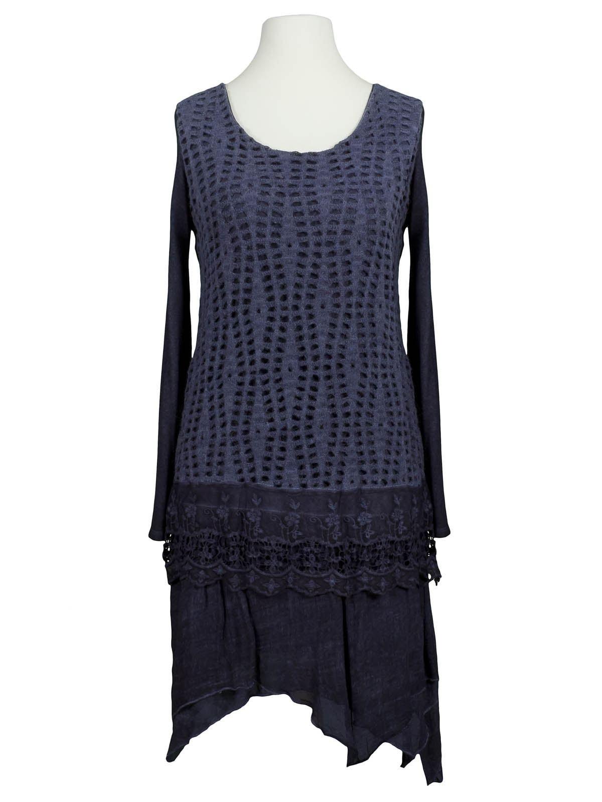 10 Wunderbar Kleid Spitze Blau Galerie13 Ausgezeichnet Kleid Spitze Blau Ärmel