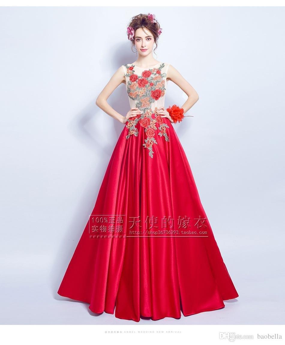 Großartig Rote Abendkleider Design15 Genial Rote Abendkleider Boutique