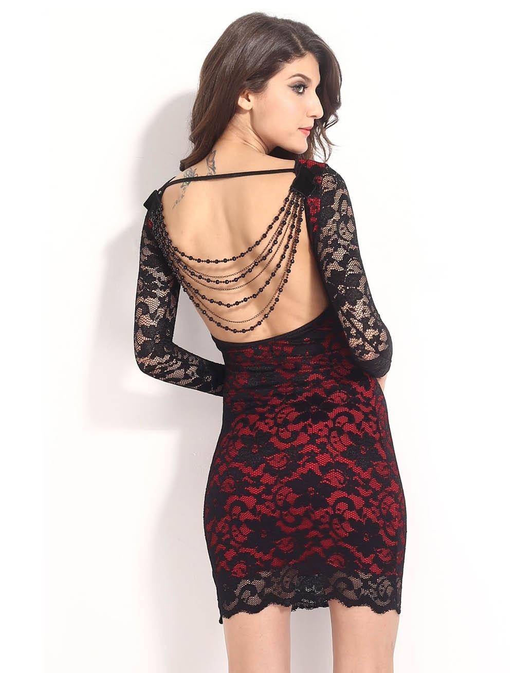 Abend Schön Rot Schwarzes Kleid Boutique20 Perfekt Rot Schwarzes Kleid Ärmel