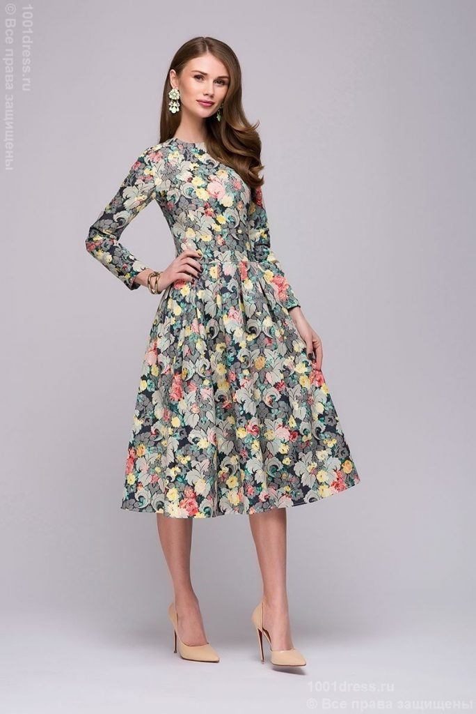 17 Kreativ Abendkleider Midi Mit Ärmel Spezialgebiet  Abendkleid
