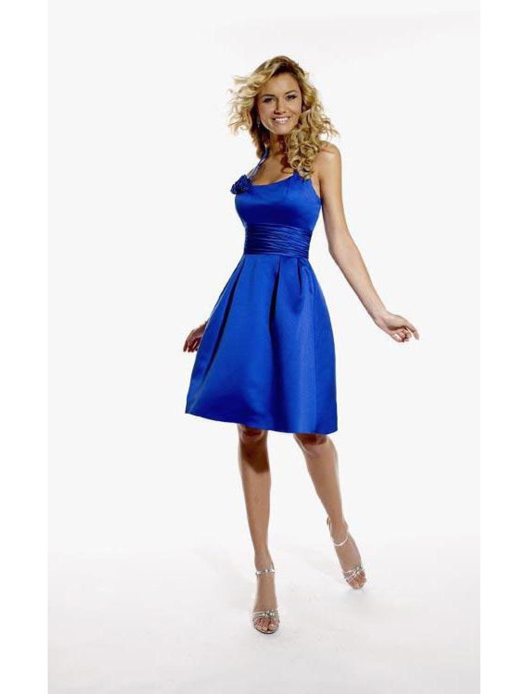 Abend Schön Kleid Royalblau Kurz Spezialgebiet15 Luxus Kleid Royalblau Kurz Design