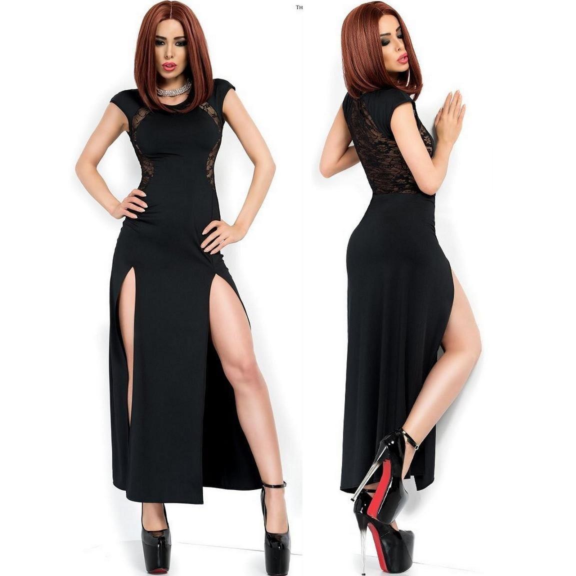 Formal Wunderbar Schwarzes Kleid Spitze Galerie17 Elegant Schwarzes Kleid Spitze für 2019