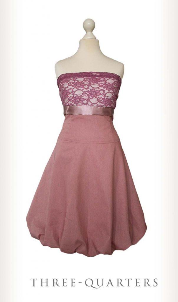 17 Luxus Kleid Altrosa Spitze Design - Abendkleid