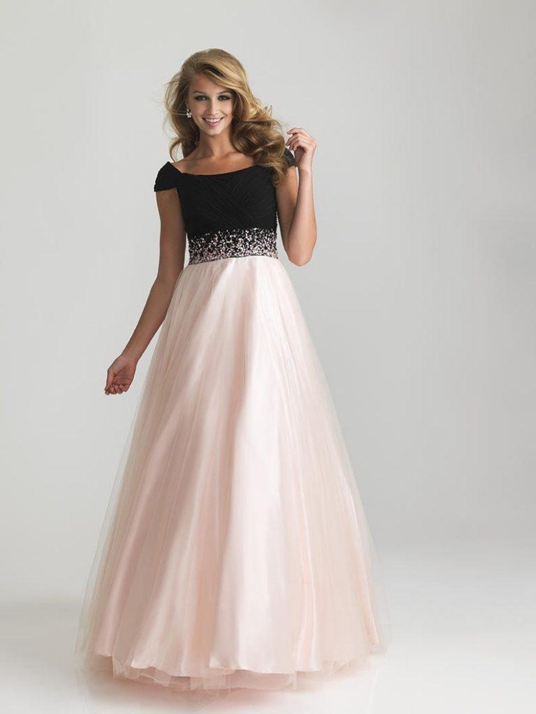 17 luxus schöne kleider lang Ärmel - abendkleid