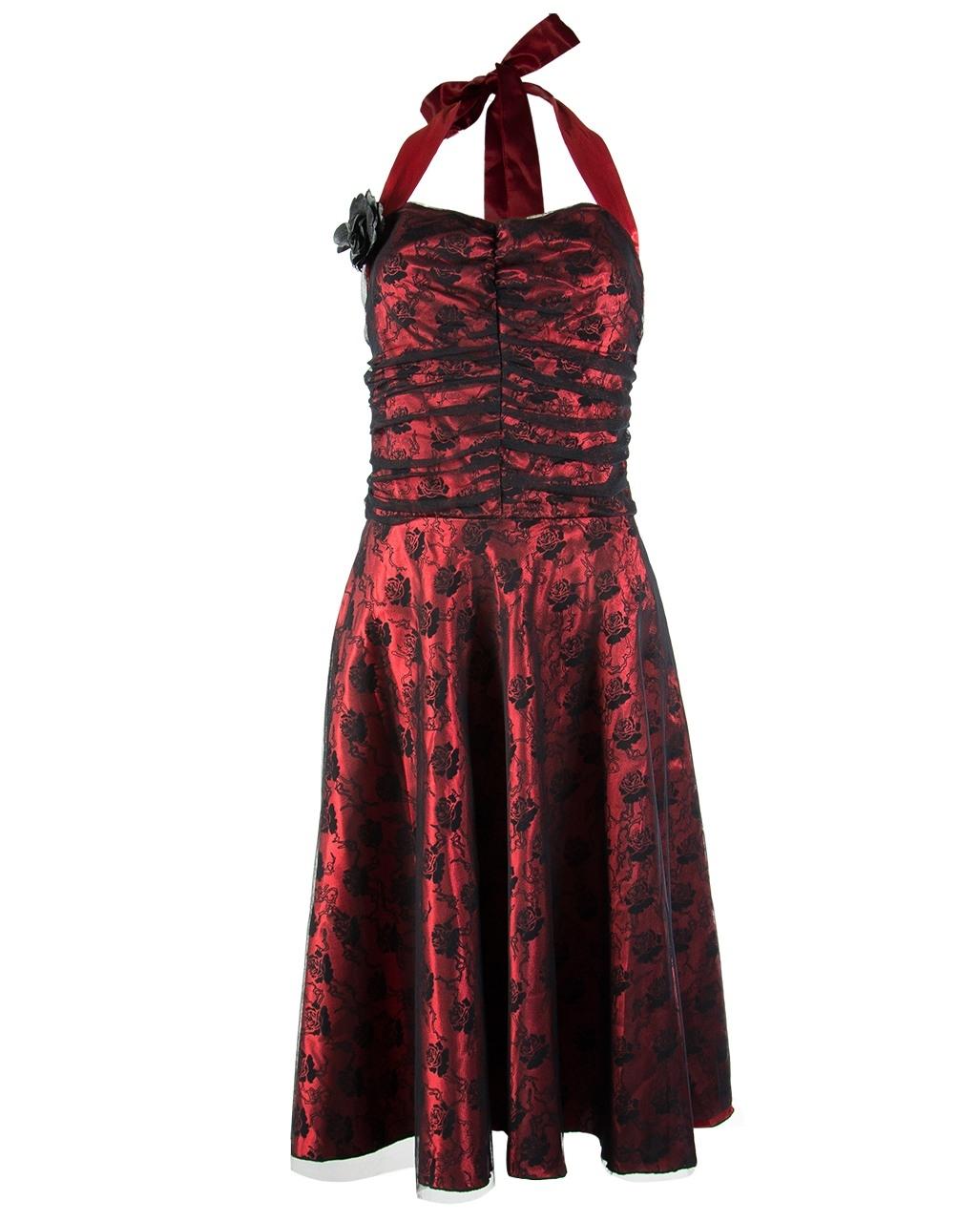 17 Genial Rot Schwarzes Kleid Ärmel10 Fantastisch Rot Schwarzes Kleid Vertrieb