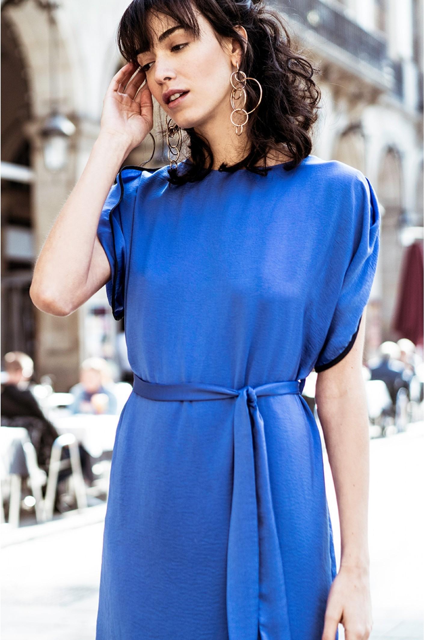Abend Schön Blaues Kleid Mit Ärmeln für 2019Abend Leicht Blaues Kleid Mit Ärmeln Design