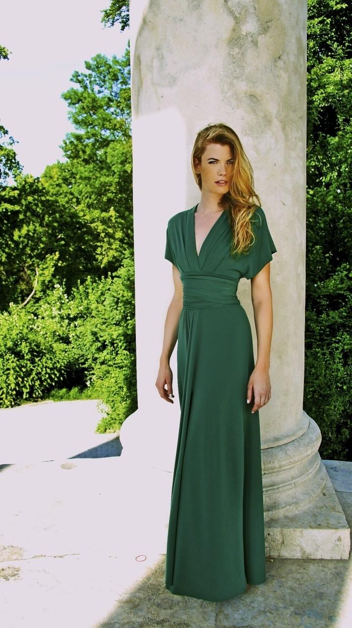 17 schön grünes kleid kurz Ärmel - abendkleid